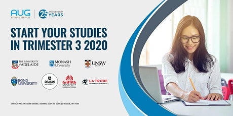 START YOUR STUDIES IN TRIMESTER 3 2020 tickets