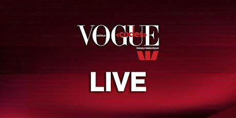 Vogue Codes Live tickets