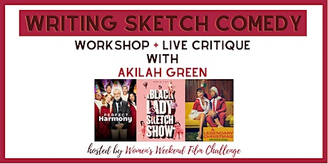 Writing sketch comedy: workshop + live critique tickets