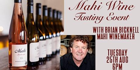 Mahi Wine Tasting and Food Pairing tickets