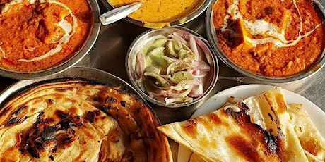 Indian curry with laccha parantha by IndianfoodiesinMelbourne tickets