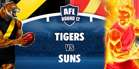 Round  12 - Richmond vs Gold Coast Suns - LIVE @ The Cammy tickets