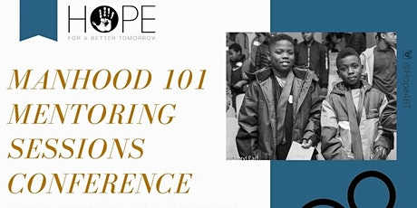 Manhood 101 Mentoring Sessions 2020 ingressos