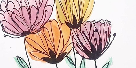 Botanical Watercolor & Doodle Art tickets