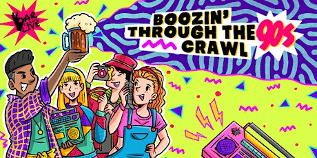 Boozin' Through The 90s Bar Crawl | Hartford, CT tickets