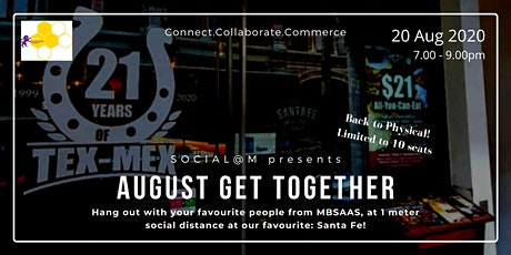 Social@M August Get-Together tickets