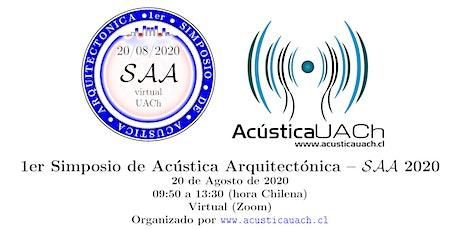 Simposio de Acústica Arquitectónica boletos