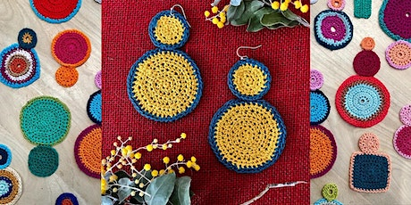 WORKSHOP | Crochet a unique pair of earrings with Knitclub tickets