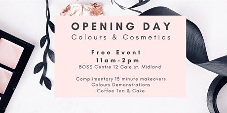 Colours & Cosmetics Open Day tickets