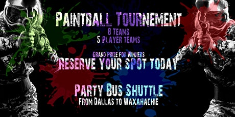 Dallas Culture Paintball Tournament tickets