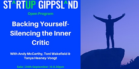 Backing Yourself - Silencing Your Inner Critic tickets