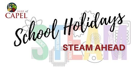 BOYANUP LIBRARY - STEAM Ahead - School Holidays tickets