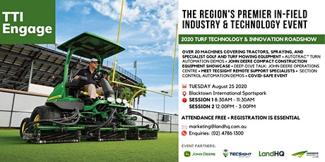 Turf Technology & Innovation Roadshow 2020 | SYDNEY tickets