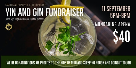 Yin and Gin Fundraiser tickets