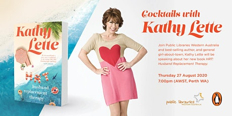 Cocktails with Kathy Lette at Karrinyup Library tickets