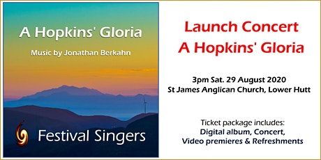 "Launch Concert for ""A Hopkins' Gloria"" digital album tickets"