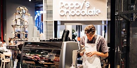 Coffee &  Cake on us! | Poppy's Chocolates | Seniors Week tickets