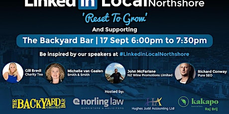 #Linkedin Local Northshore tickets