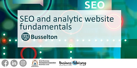 SEO and Analytic Website Fundamentals tickets