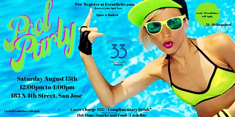Grand Summer Bash Pool Party!! Sponsored by Diamond Glacier 33 tickets