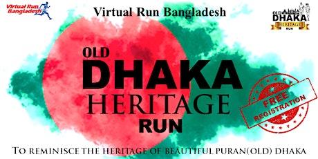 Old Dhaka Heritage Run tickets