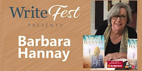 Author Talk with Barbara Hannay tickets