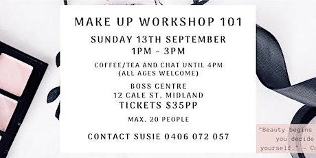 Makeup Workshop 101 tickets