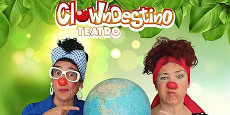 Clowdestino Teatro PLANETA LOCO (MENUTSBARRIS) entradas