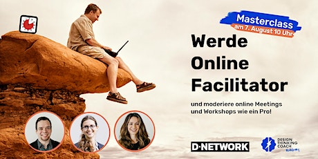 Online Facilitator Masterclass 8 Tickets