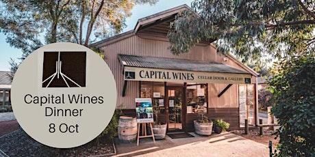 Capital Wines Dinner tickets