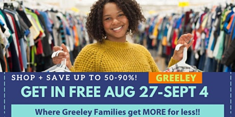 JBF Greeley Fall & Pre-Holiday Sale Admission Pass tickets