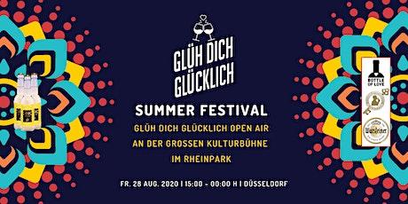 Glüh Dich Glücklich -Summerfestival-  auf der  Kulturbühne im Rheinpark Tickets