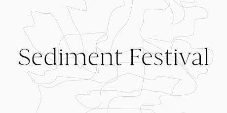 Sediment Festival tickets