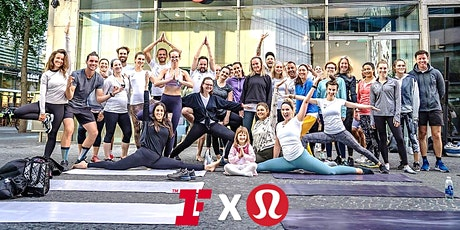 Fitness First X lululemon Outdoor Yoga am Kranzler Eck tickets