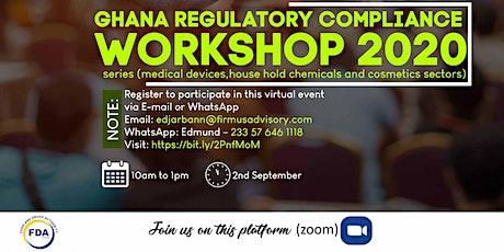 The Ghana Regulatory Compliance Workshop 2020 Webinar Series tickets
