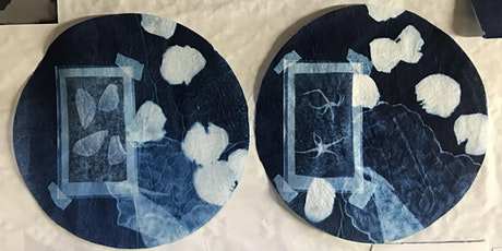 Cyanotype Printing- Catching Images with Sunlight-School Holiday session tickets