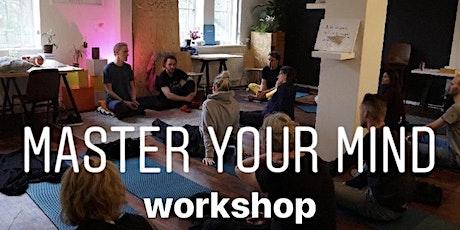Master your mind | workshop 26 september tickets