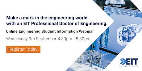 EIT Engineering Webinar - September 2020 tickets
