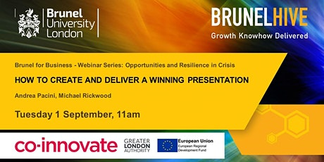 Brunel for Business - How to Create and Deliver a Winning Presentation tickets