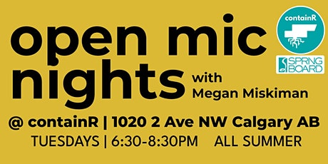 Open Mic Nights at containR tickets