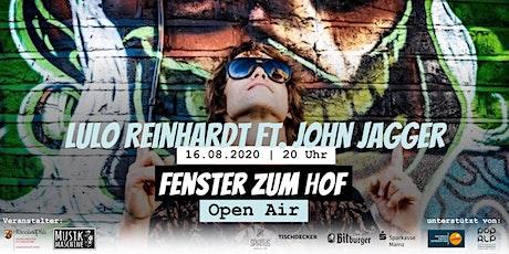 Fenster zum Hof (Open Air) - Lulo Reinhardt & Band ft. John Jagger Tickets