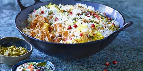 CURRY NIGHT WITH WAITROSE & PARTNERS COOKERY SCHOOL - £20