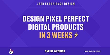UX Design Sprint: Design Pixel Perfect Digital Products in Three Weeks Tickets