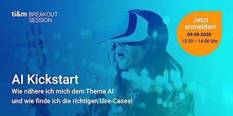 ti&m breakout session: AI Kickstart Tickets