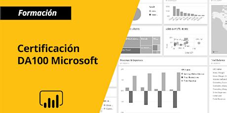 Certificación DA100 Microsoft en Power BI boletos
