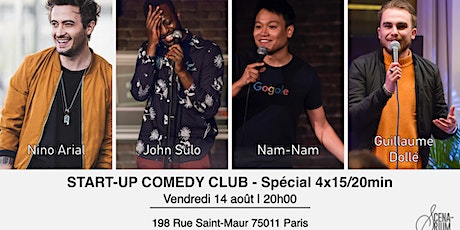 Start-up Comedy Club - Spéciale 4x15min billets