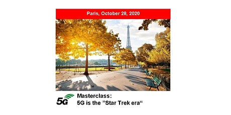 5G Masterclass 2020 - PARIS tickets