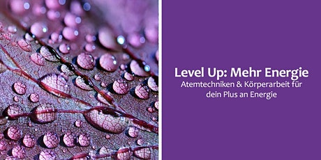 Level Up: Mehr Energie Tickets