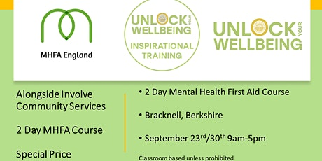 Mental Health First Aid training course tickets