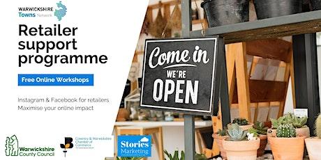 1) Retail Skills Training -Social Media skills for retailers tickets